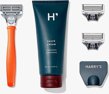 Harrys shaving supplies